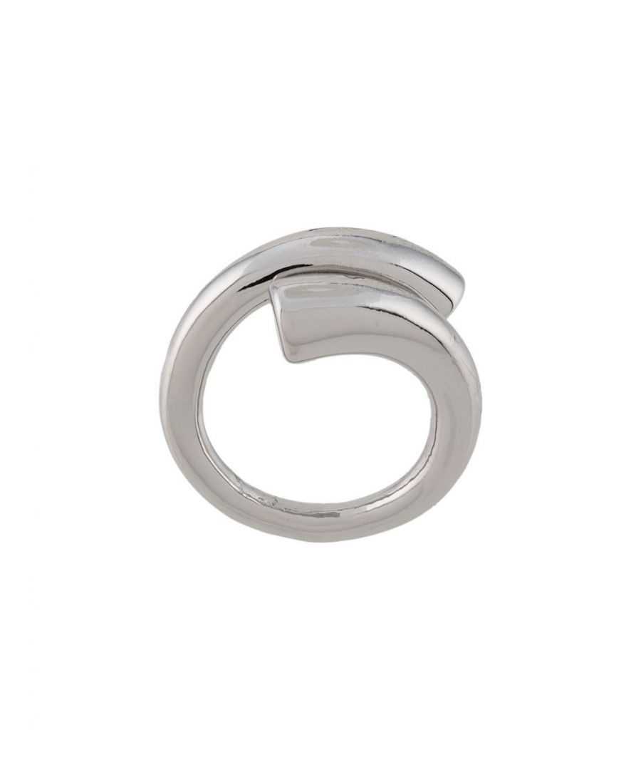 Image for FEDERICA TOSI WOMEN'S FT0112RINGTUBESILVER SILVER METAL RING