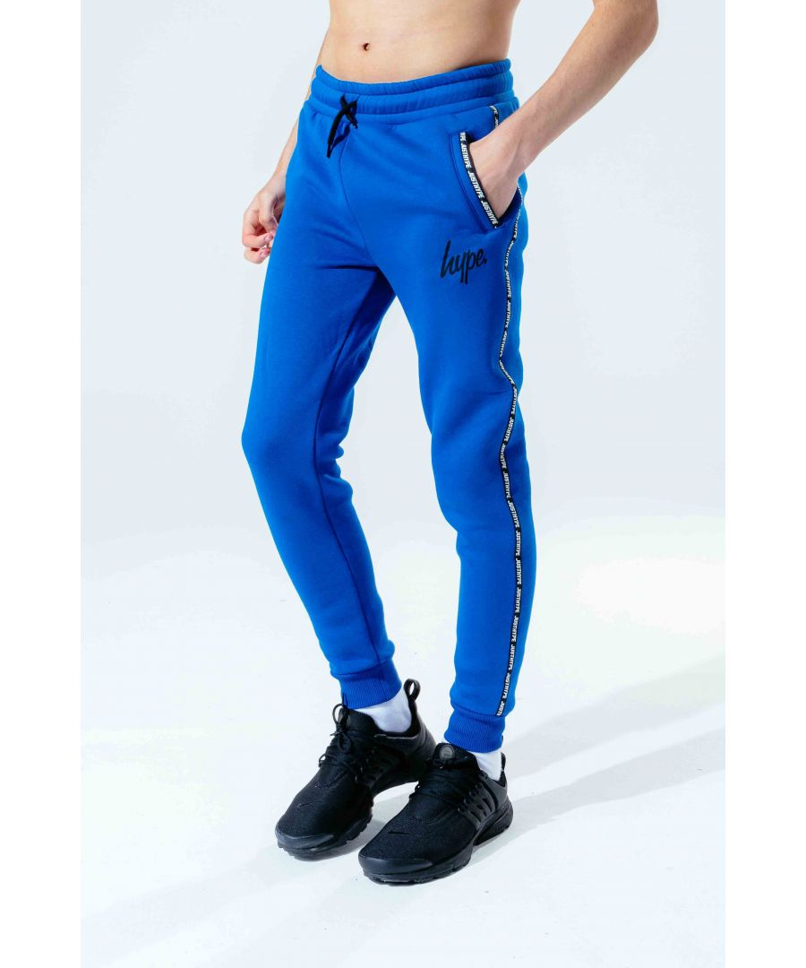 Image for Hype Cobalt Micro Taping Kids Joggers