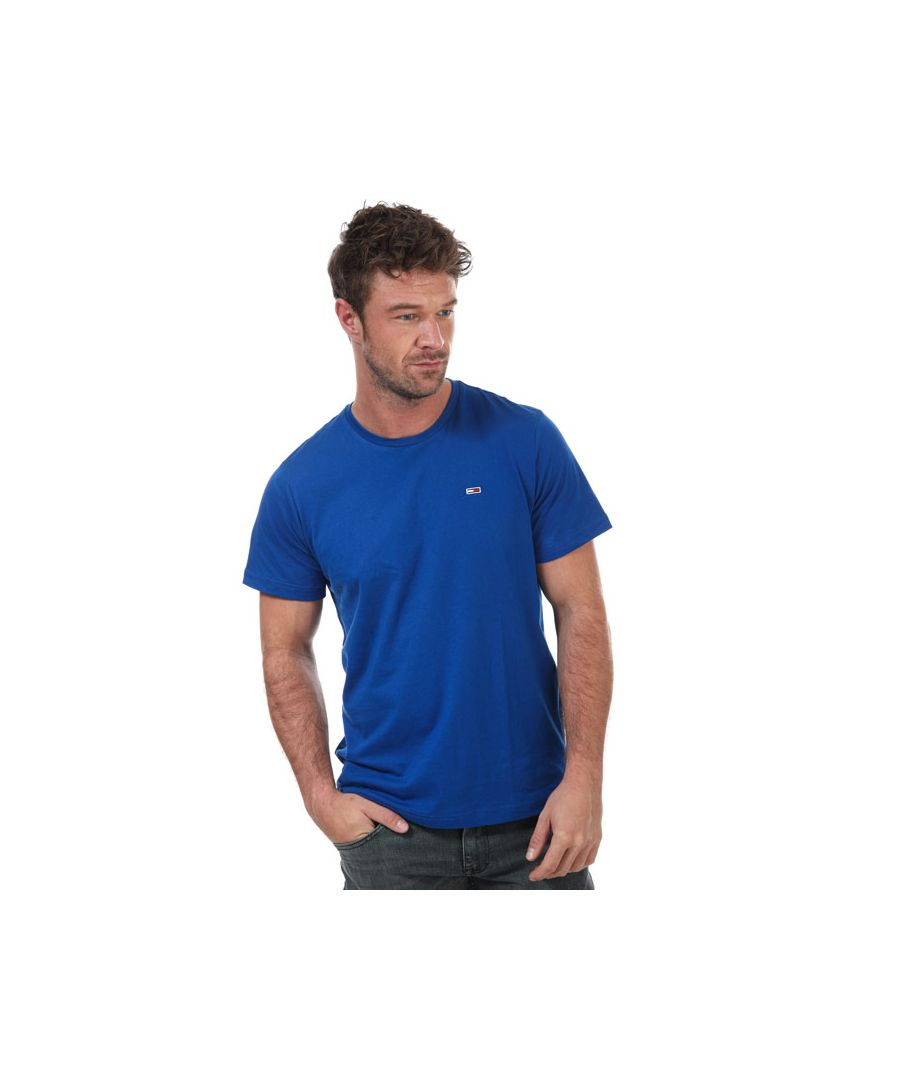 Image for Men's Tommy Hilfiger Classic T-Shirt in Blue