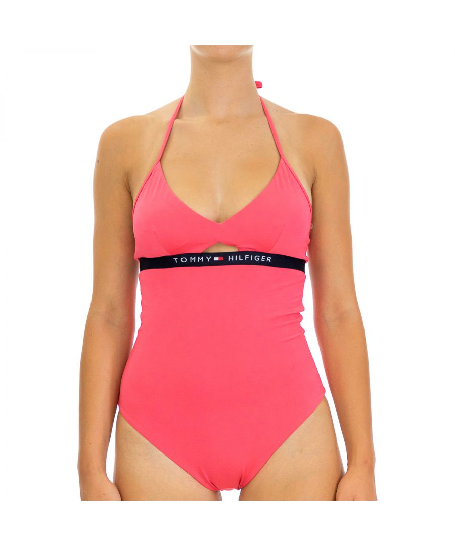 Image for Tommy Hilfiger Women's Swimsuit in Regular Fit Pink