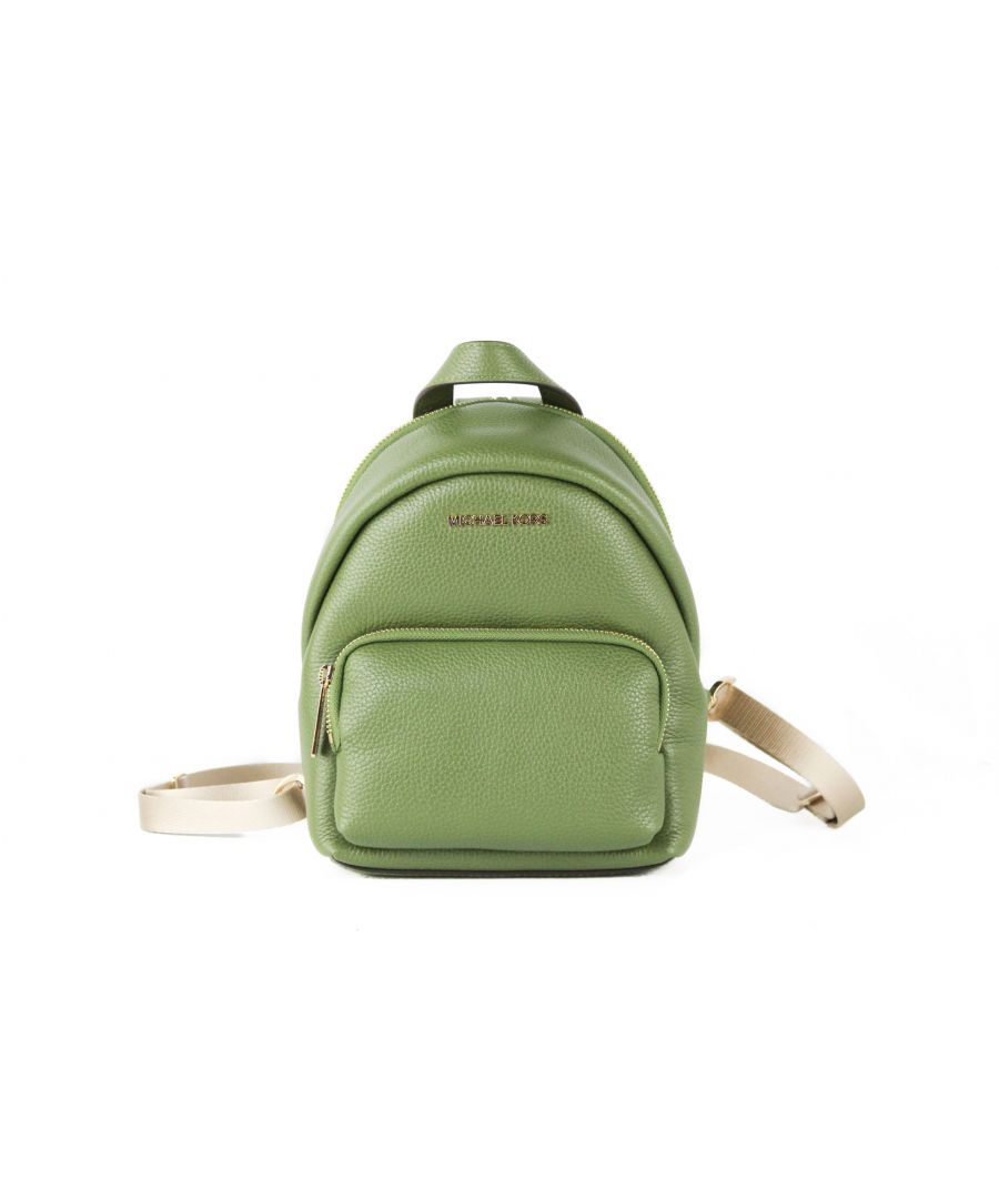 Image for Michael Kors Erin Small Leather Convertible Backpack Bag