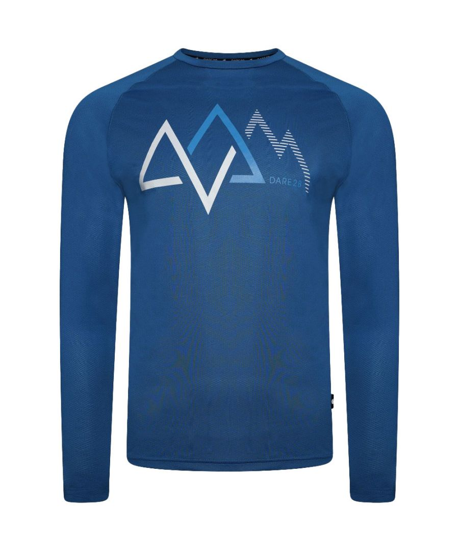 Image for Dare 2b Mens Righteous Wicking Reflective Long Sleeve Top