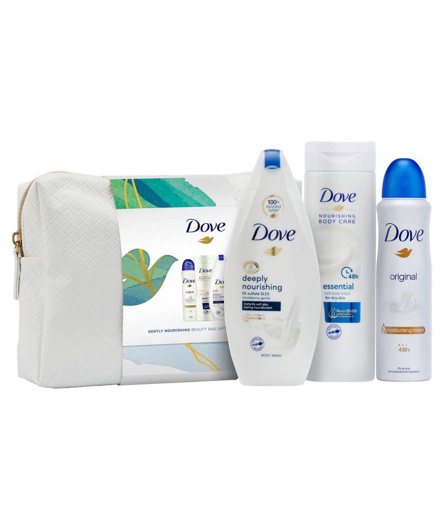Image for Dove Gently Nourishing Beauty Bag Gift Set
