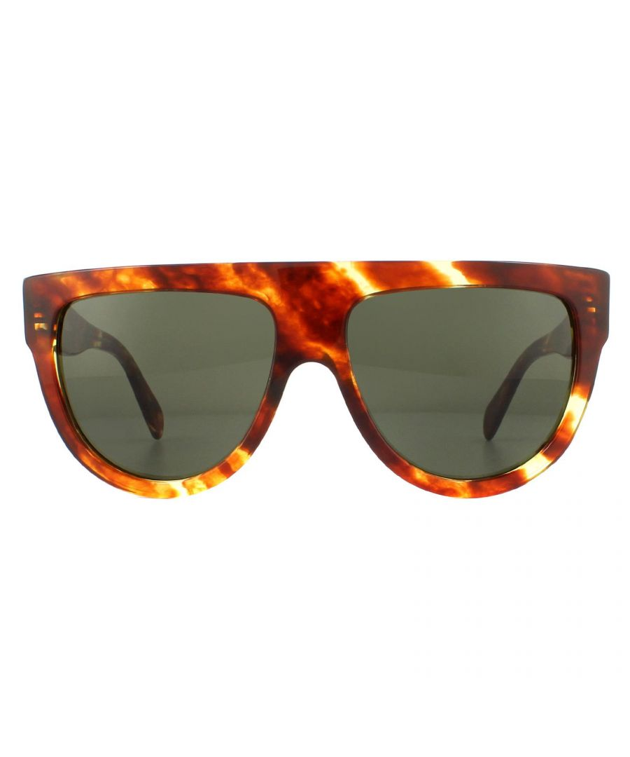 Image for Celine Sunglasses CL40001I 56N Havana Green