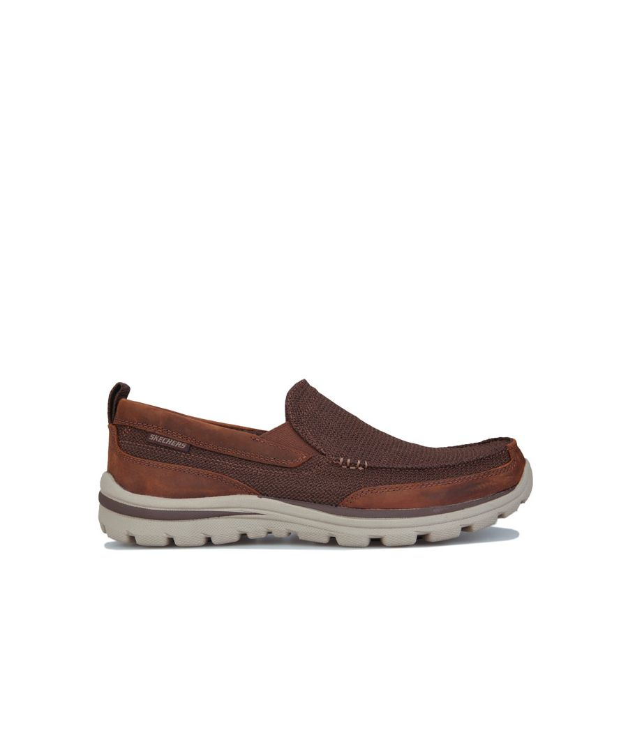 Image for Men's Skechers Superior Milford Trainer In Brown