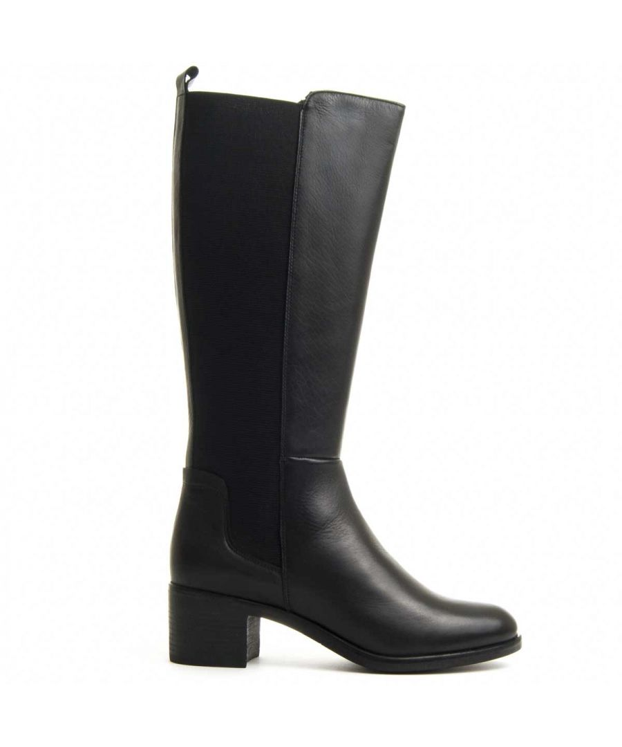 Image for Purapiel Knee High Boot in Black