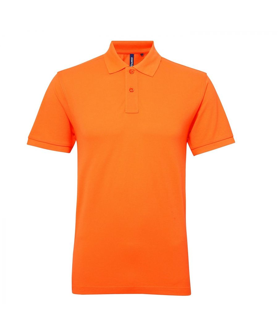 Image for Asquith & Fox Womens/Ladies Short Sleeve Performance Blend Polo Shirt (Neon Orange)