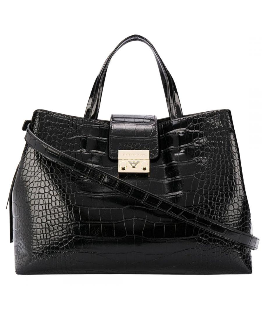 Image for Emporio Armani Black Top Handle Bag