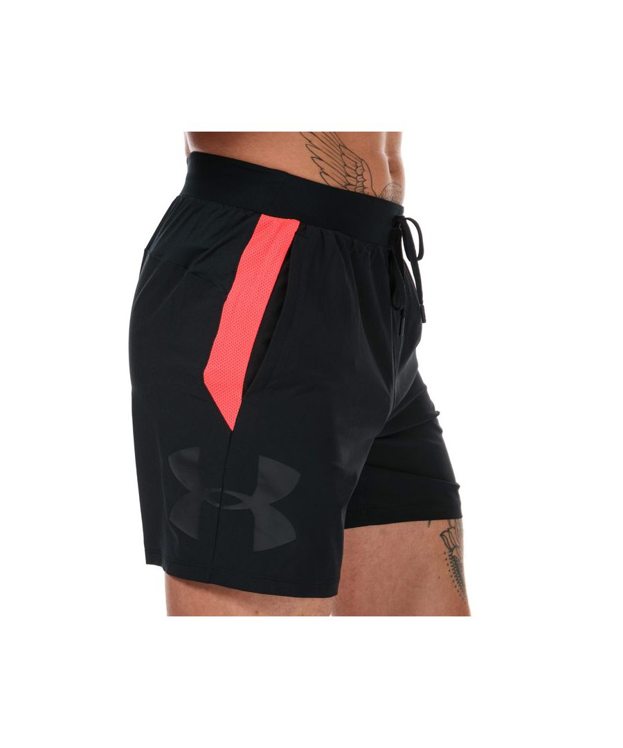 Image for Men's Under Armour Speed Pocket 7 Inch Shorts in Black