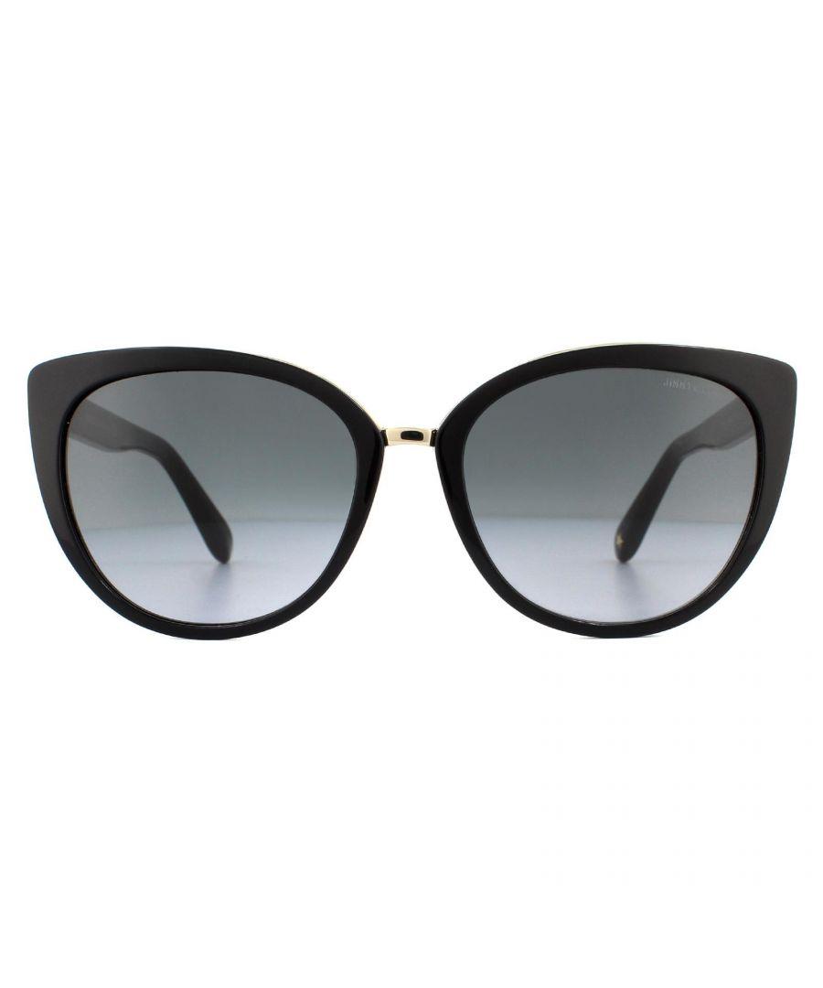 Image for Jimmy Choo Sunglasses Dana/S 10E HD Black Grey Gradient