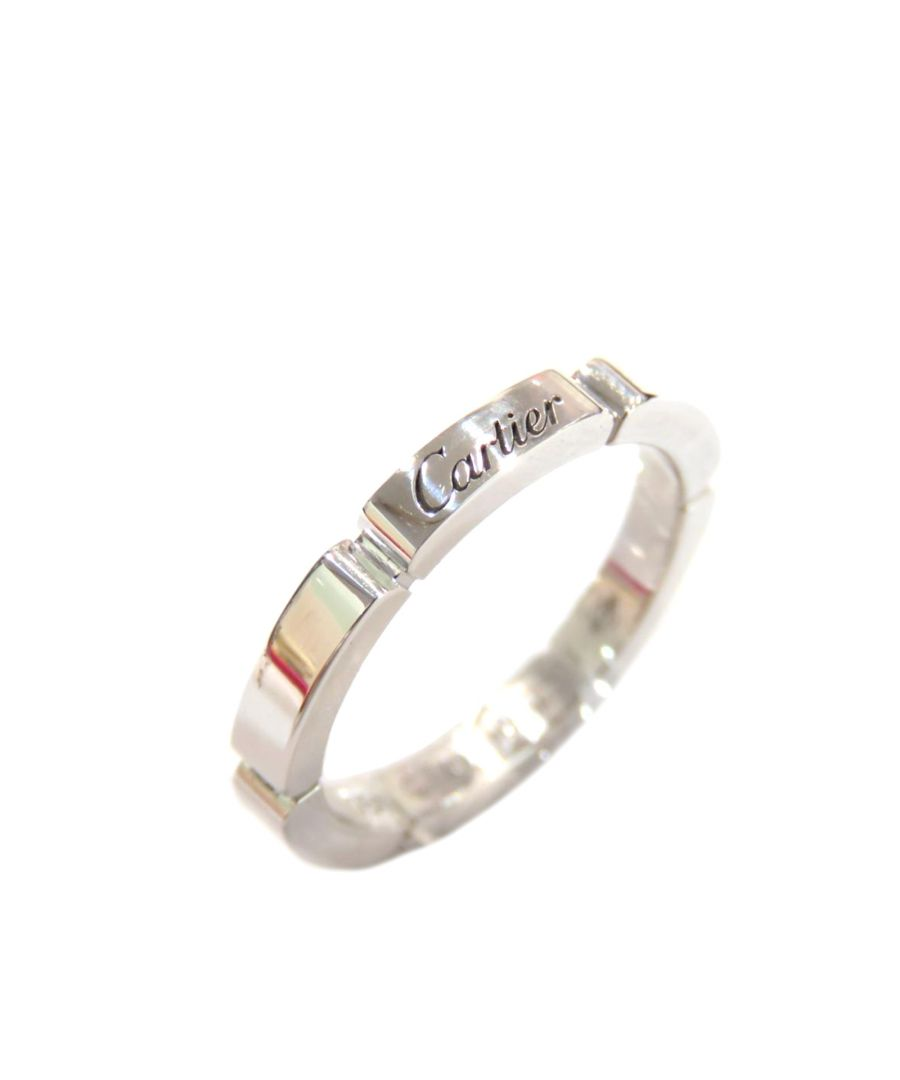 Image for Vintage Cartier 18K Maillon Panthere Ring Silver