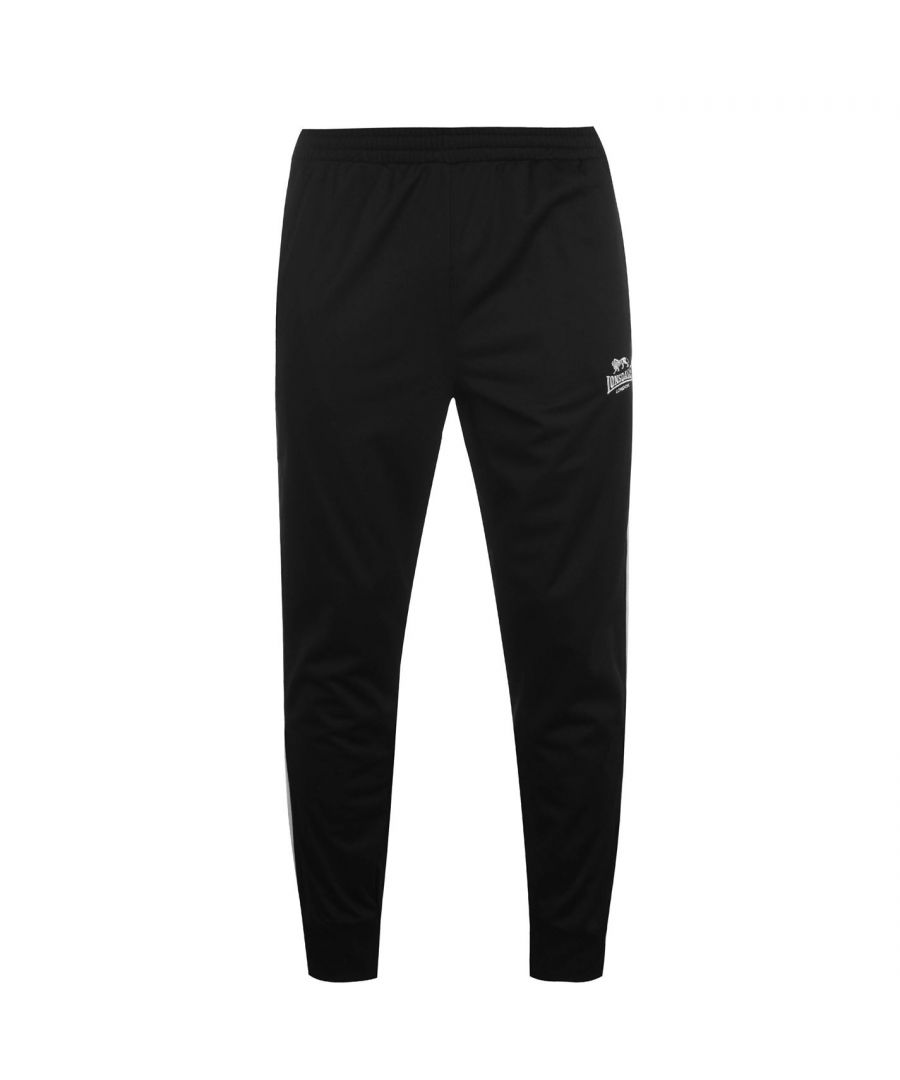 Image for Lonsdale Mens Track Pants Soft Fabric Sports Training Running Exercising Bottoms