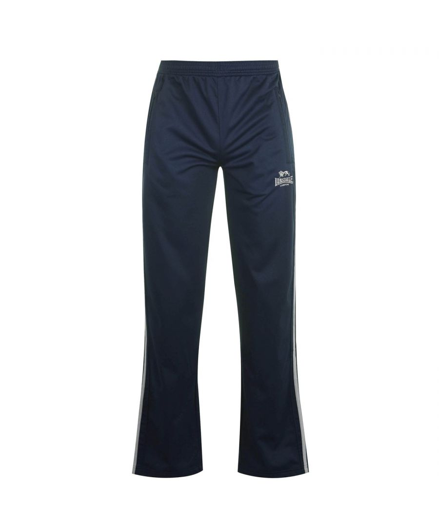 Image for Lonsdale Mens Track Pants Sports Training Running Exercising Bottoms Comfy