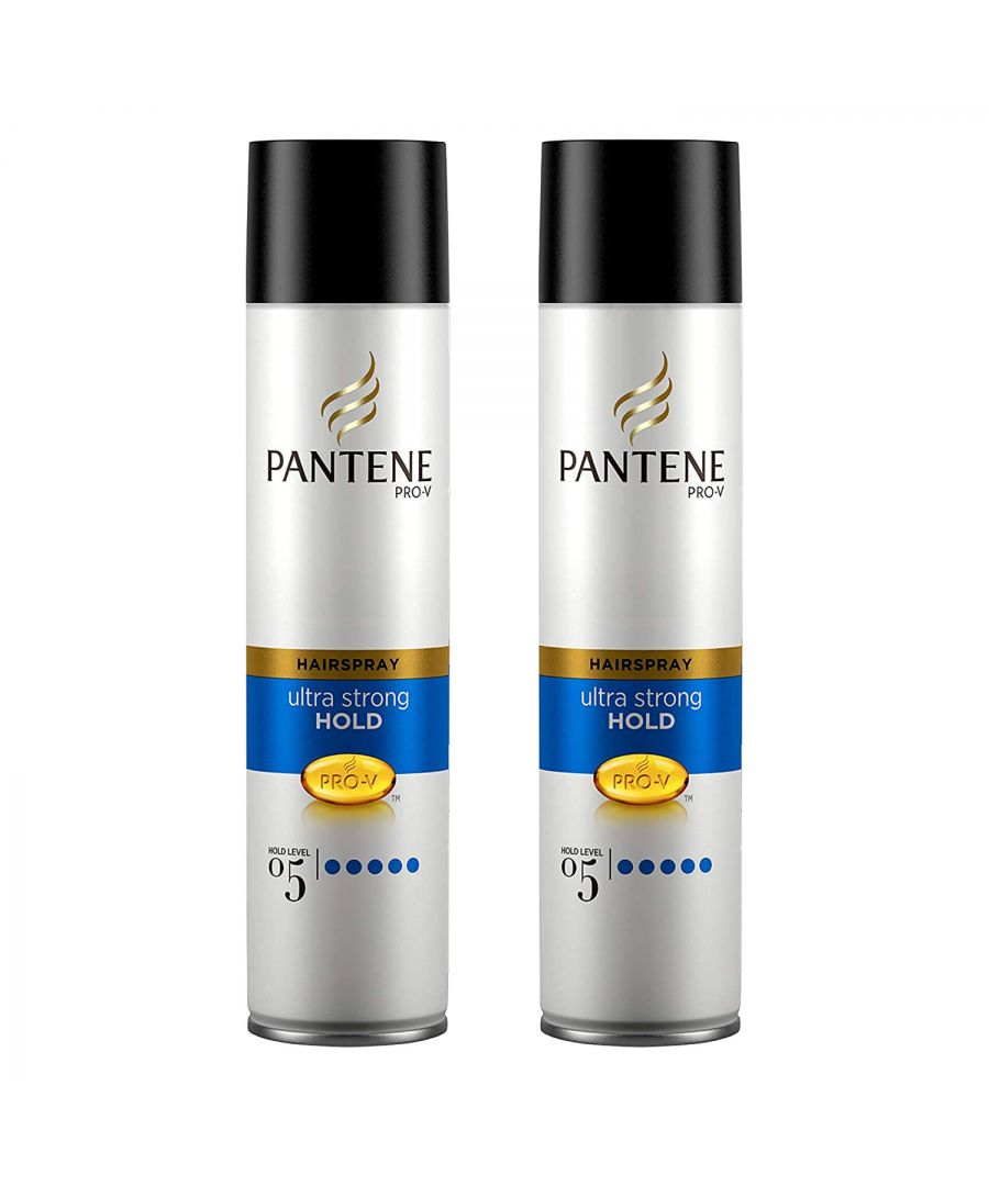 Image for Pantene Hair Ultra Strong Shine 2 x 300ml