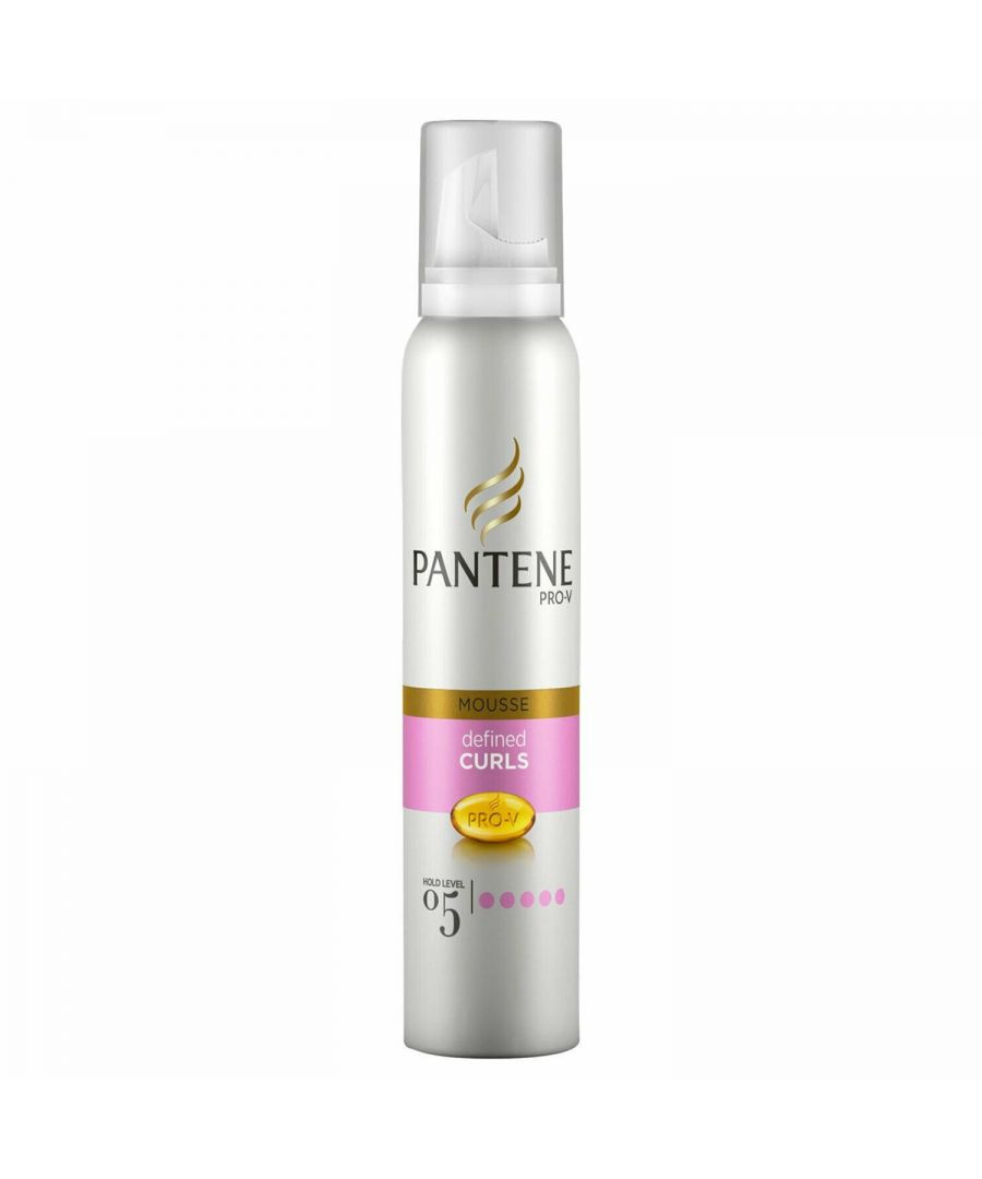 Image for Pantene Mousse Curl Defining 200ml