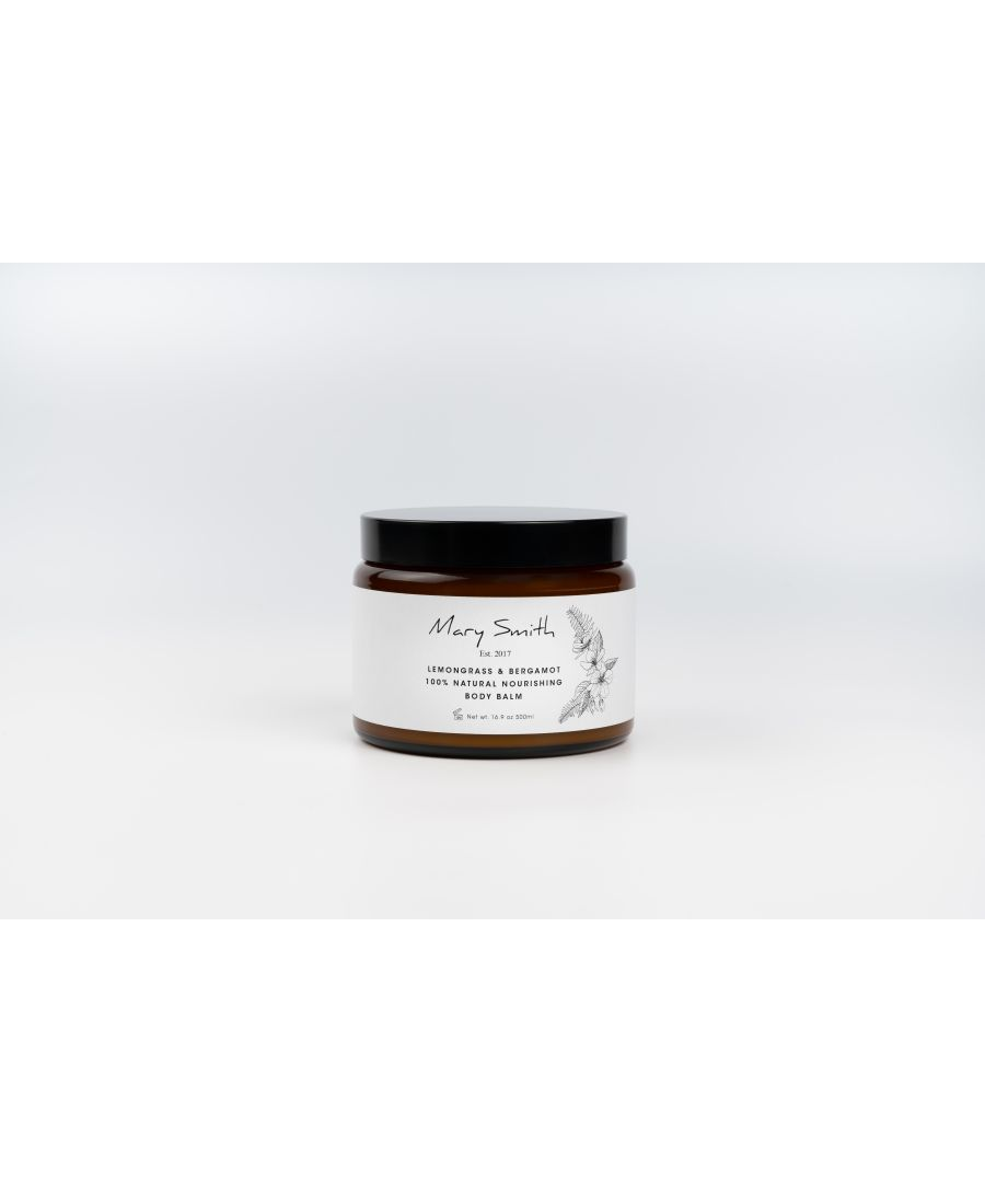 Image for 100% Natural Nourishing Body Balm - Lemongrass & Bergamot