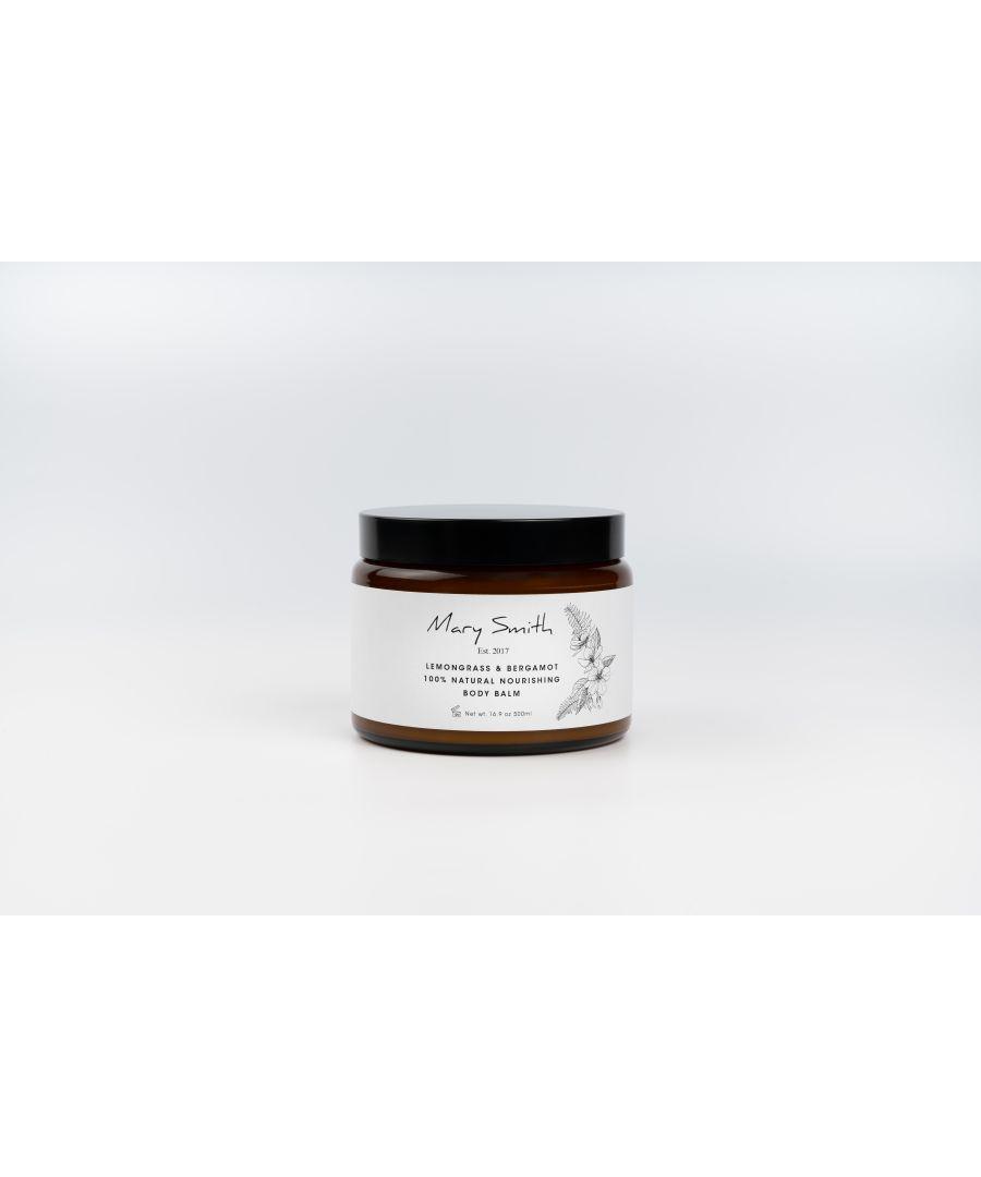Image for 100% Natural Nourishing Lemongrass & Bergamot Scent Body Balm Set