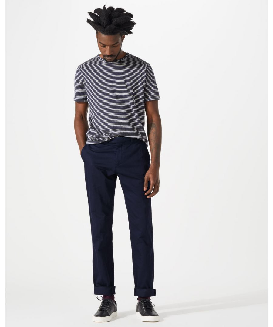 Image for Cotton Linenen Garment Dye Trouser
