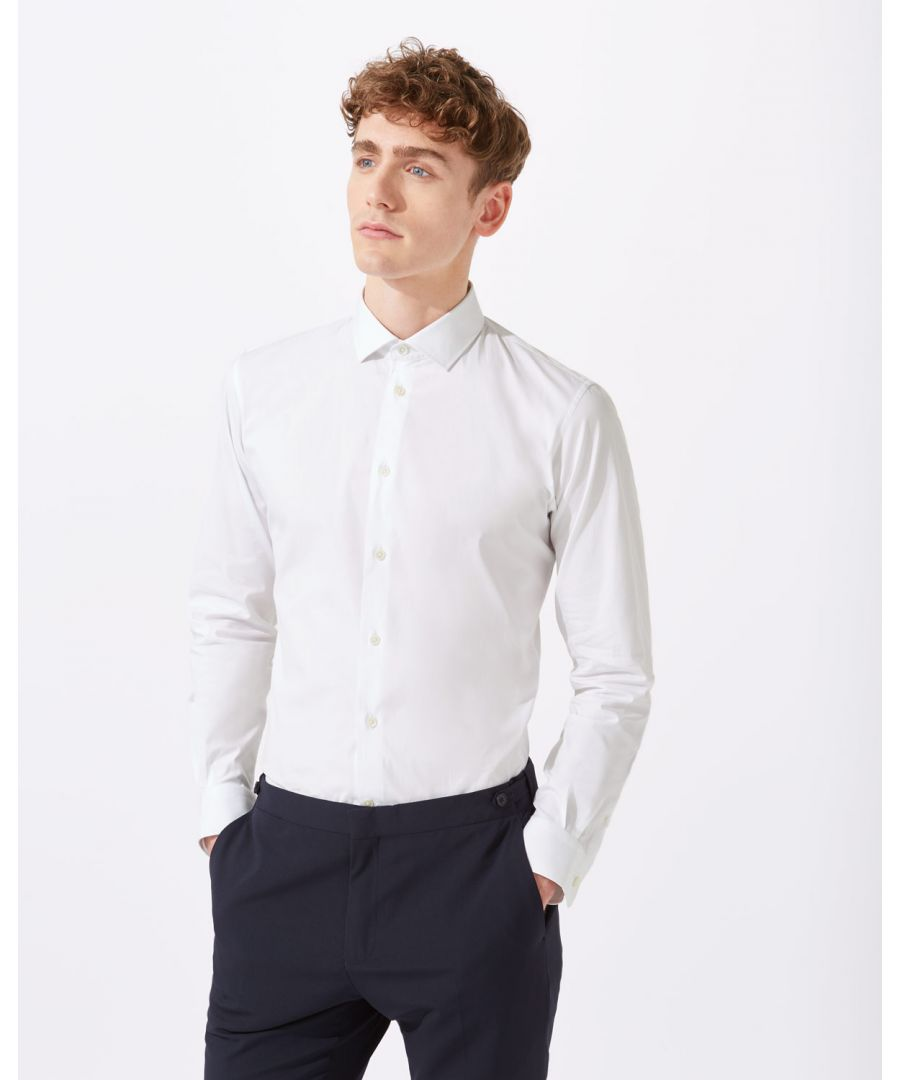 Image for Italian Poplin Slim Fit Shirt