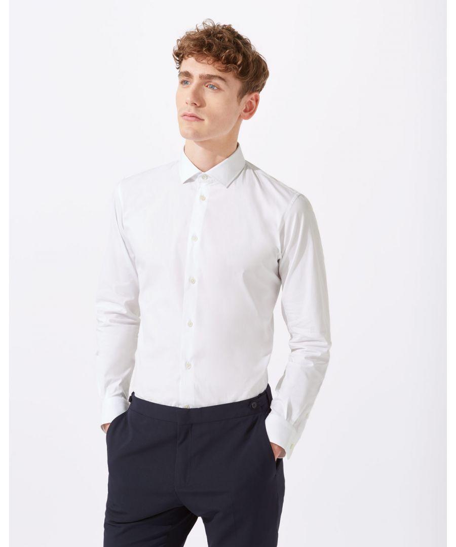 Image for Italian Poplin Slim Fit Shirt