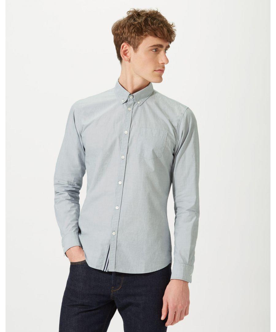 Image for End On End Stripe Shirt