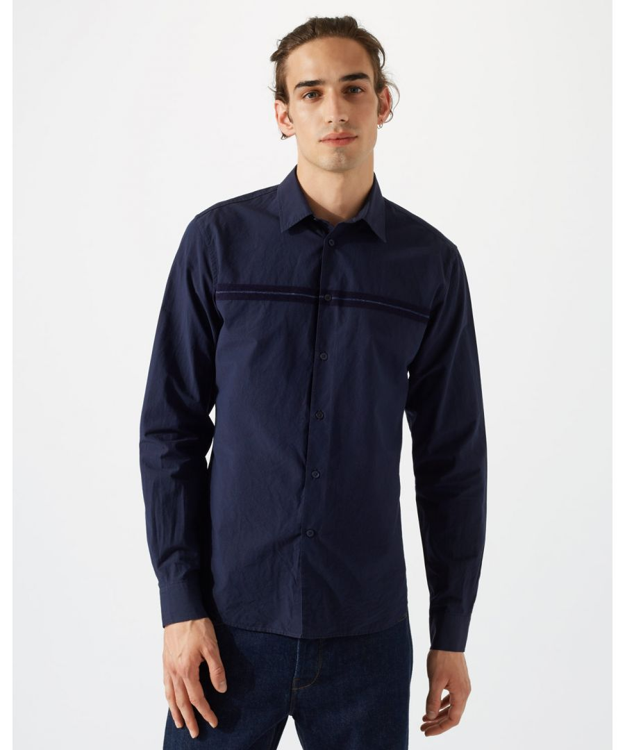 Image for Italian Placement Stripe Shirt