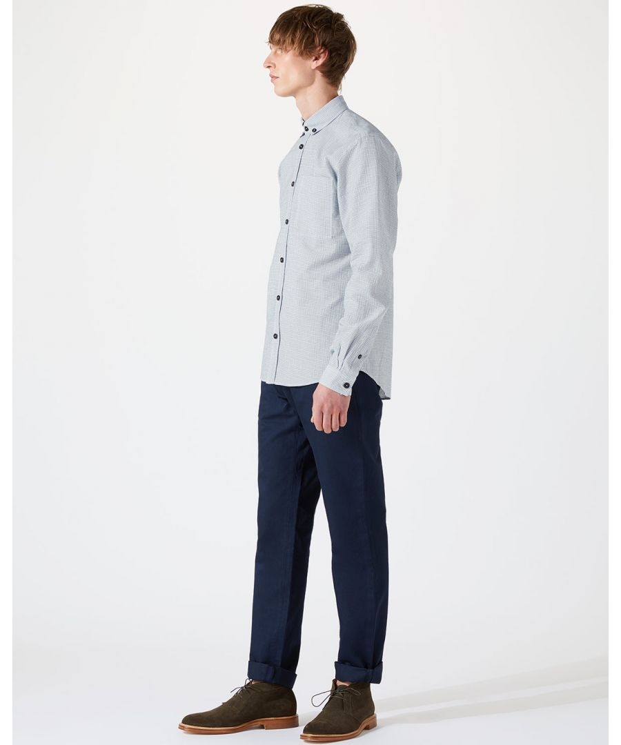 Image for Micro Grid Button Down Shirt