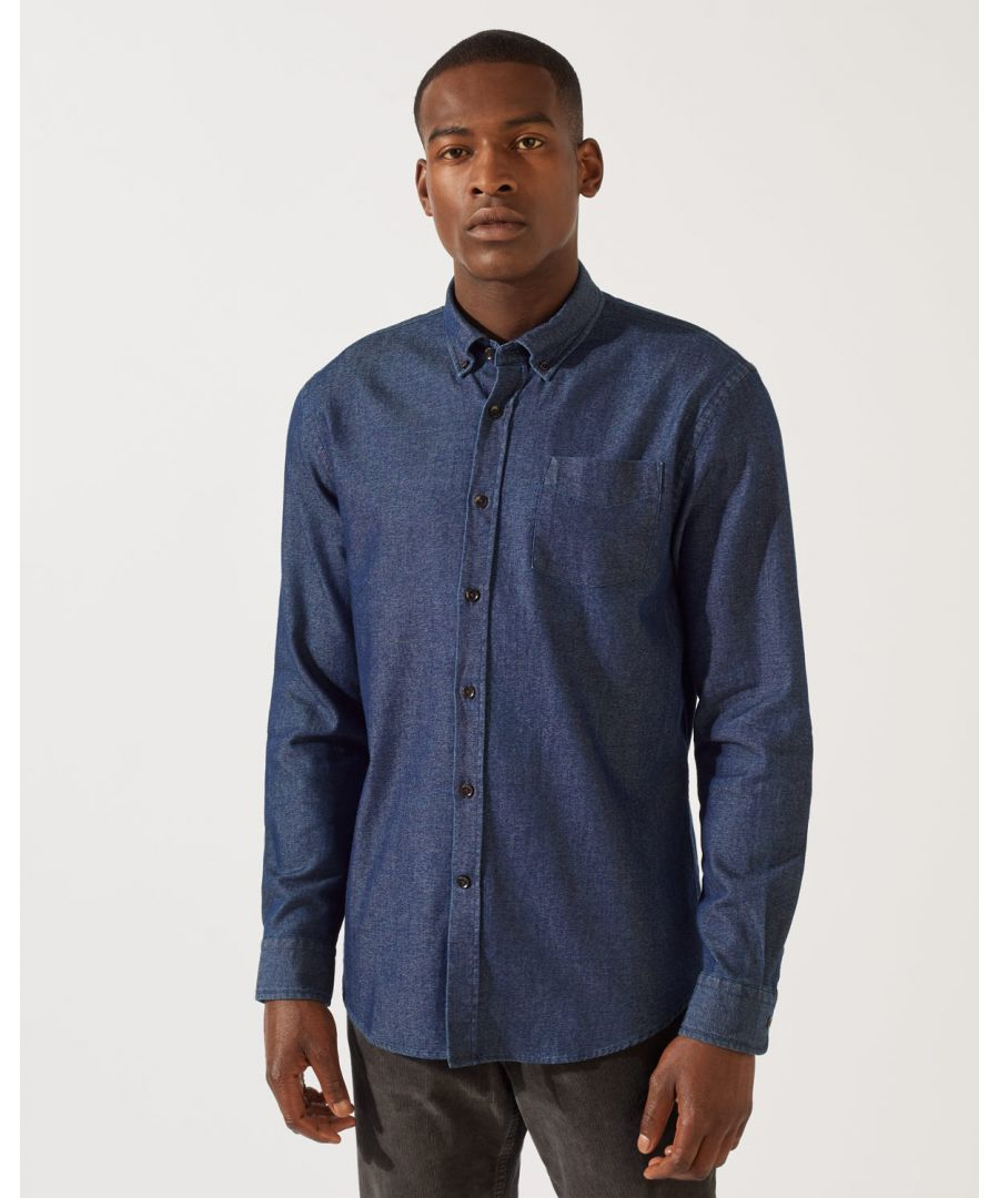 Image for Edward Indigo Shirt