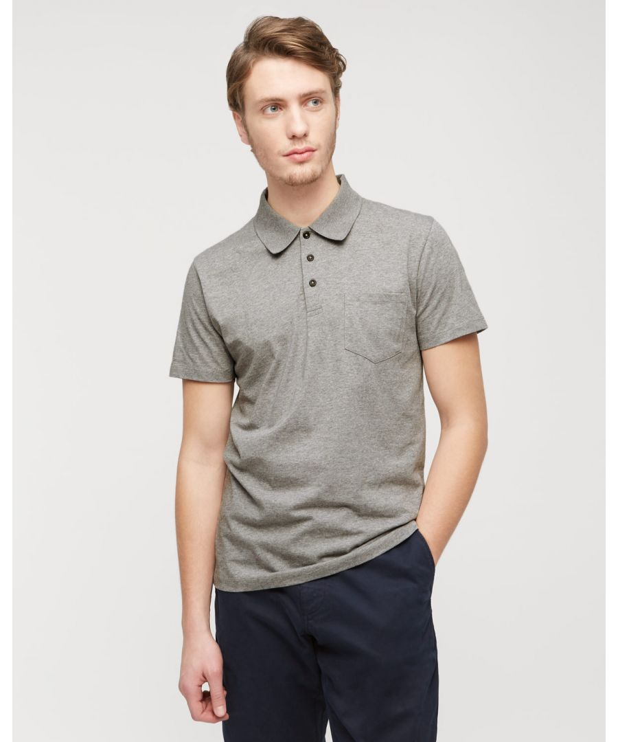 Image for Mercerized Cotton Jersey Polo Shirt