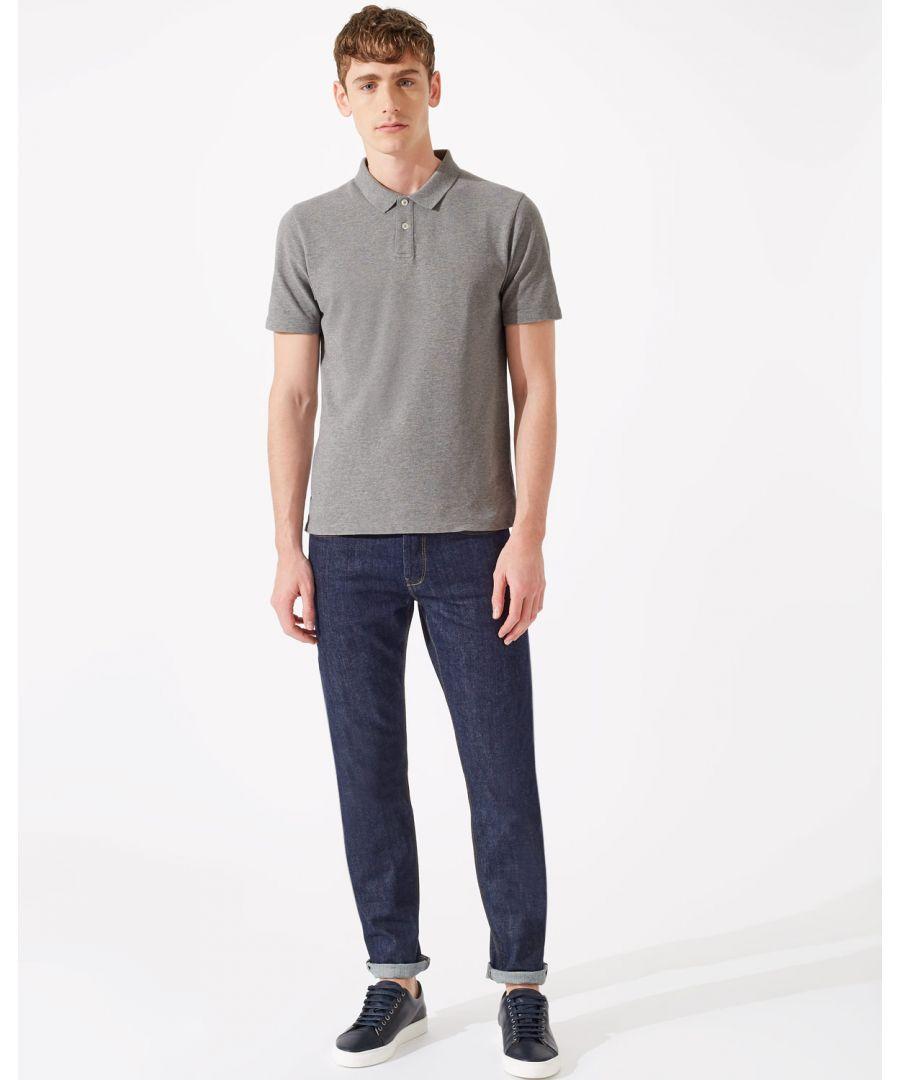 Image for Dalton Short Sleeve Pique Polo