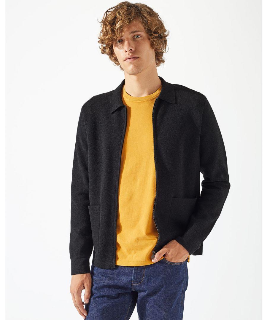 Image for Cotton Milano Zip Through Jacket