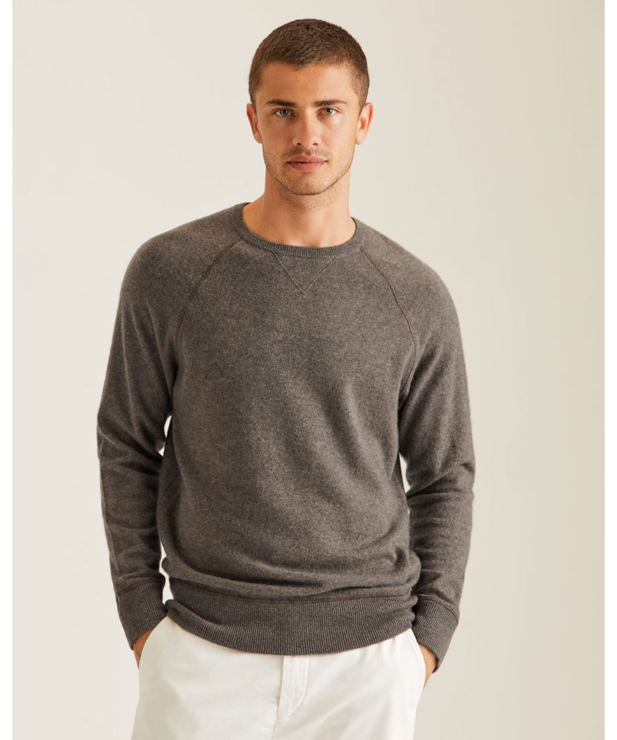 Image for Hutchinson Cashmere Crew Jumper