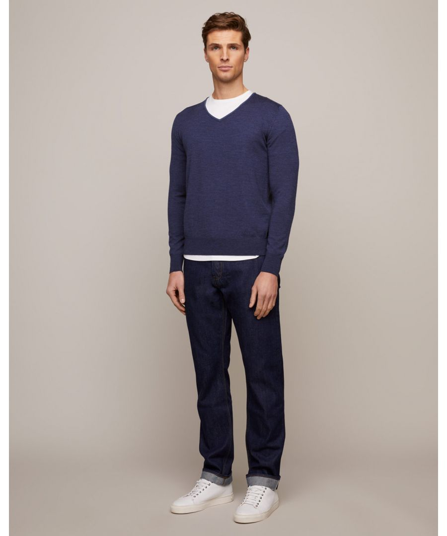 Image for Hogarth Merino V-Neck Jumper