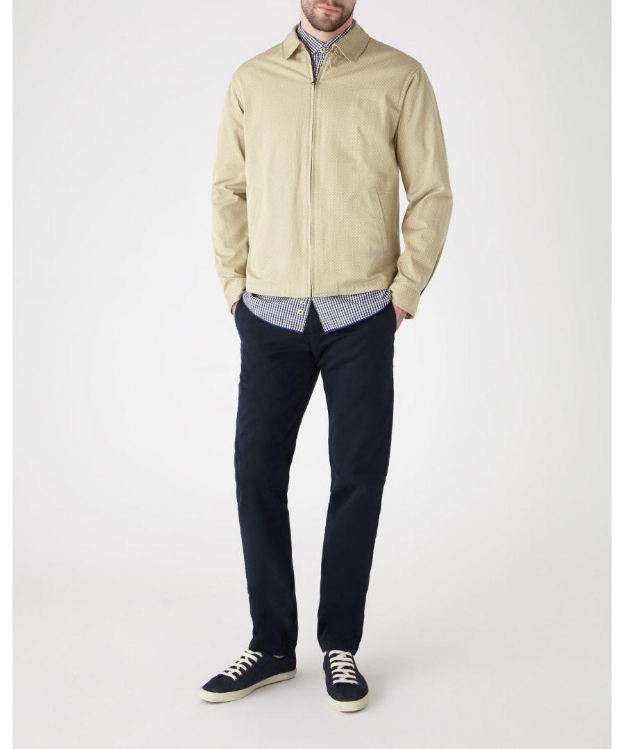 Image for Polka Dot Print Zip Jacket
