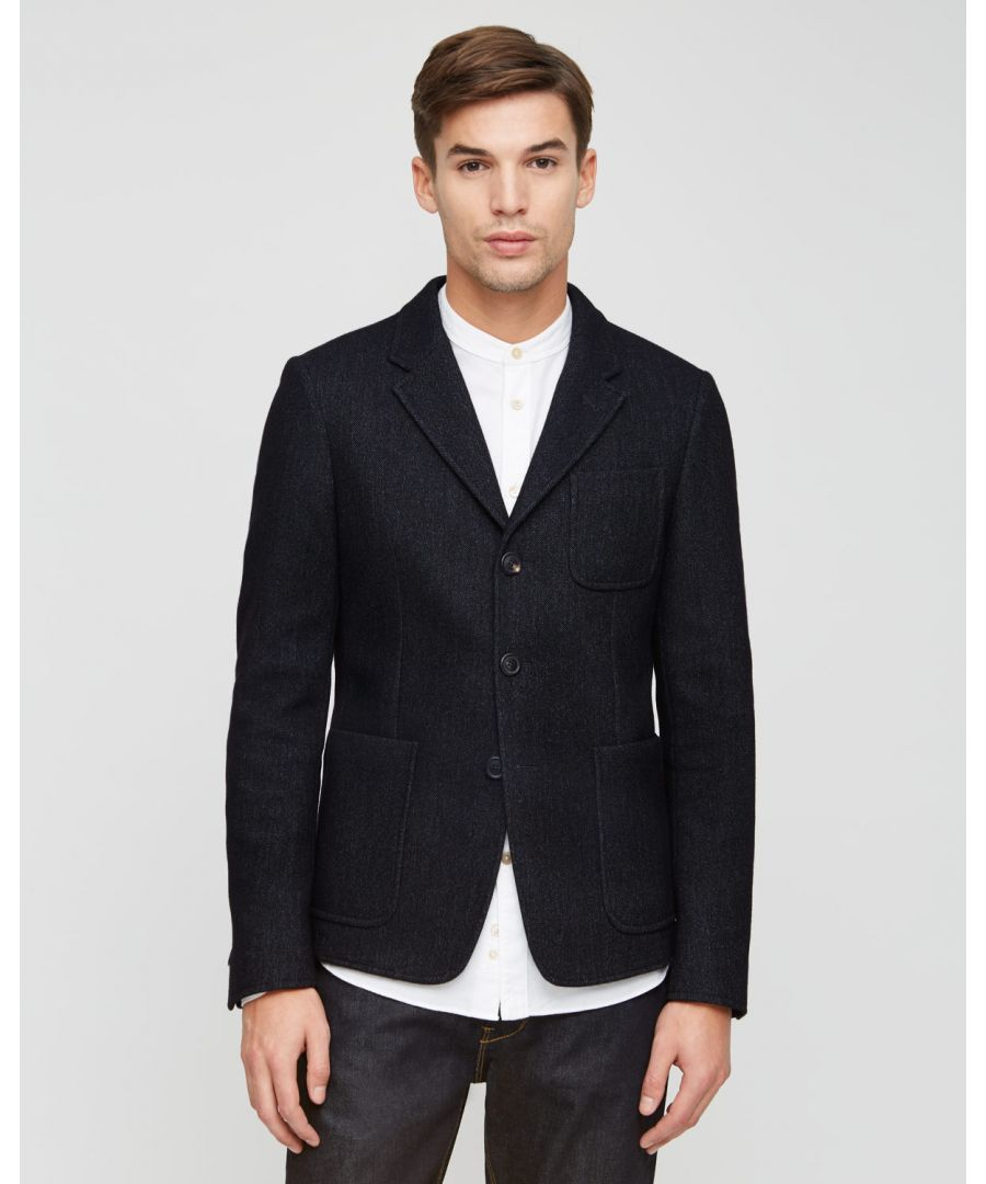 Image for Double Face Bonded Fabric Blazer