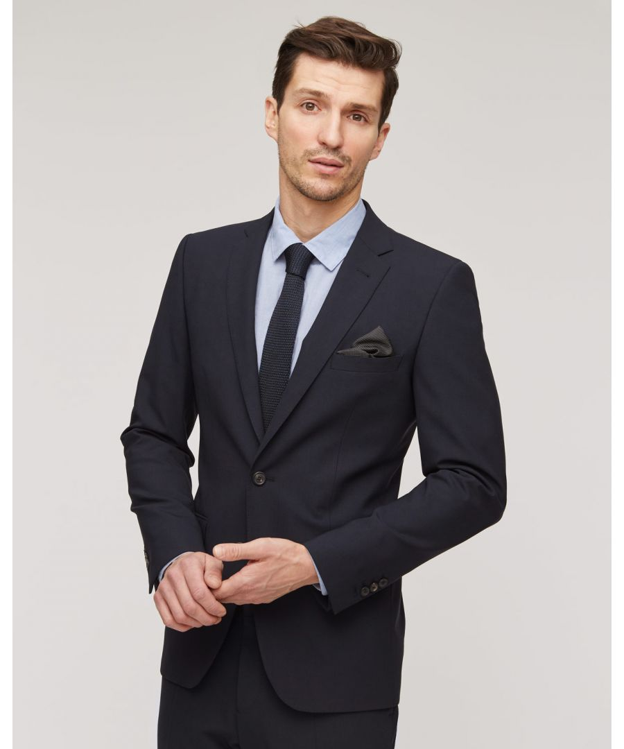 Image for Stretch Wool 2 Button Jacket
