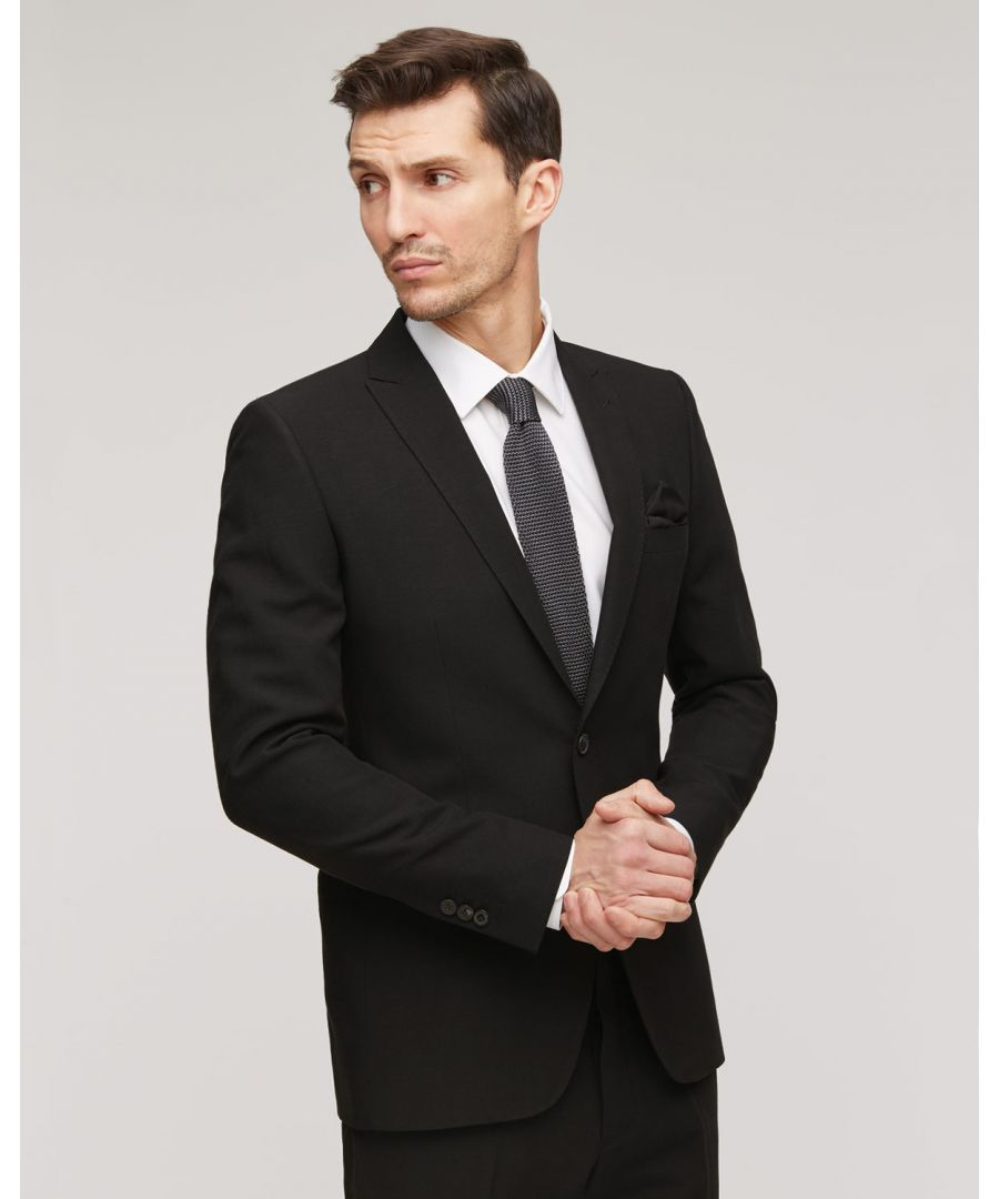 Image for Wool Linenen 2 Button Tailored Jacket