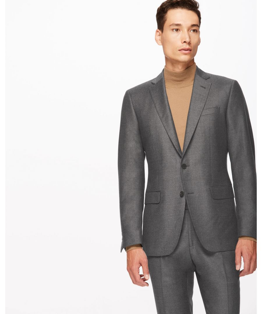Image for Italian Flannel Suit Jacket