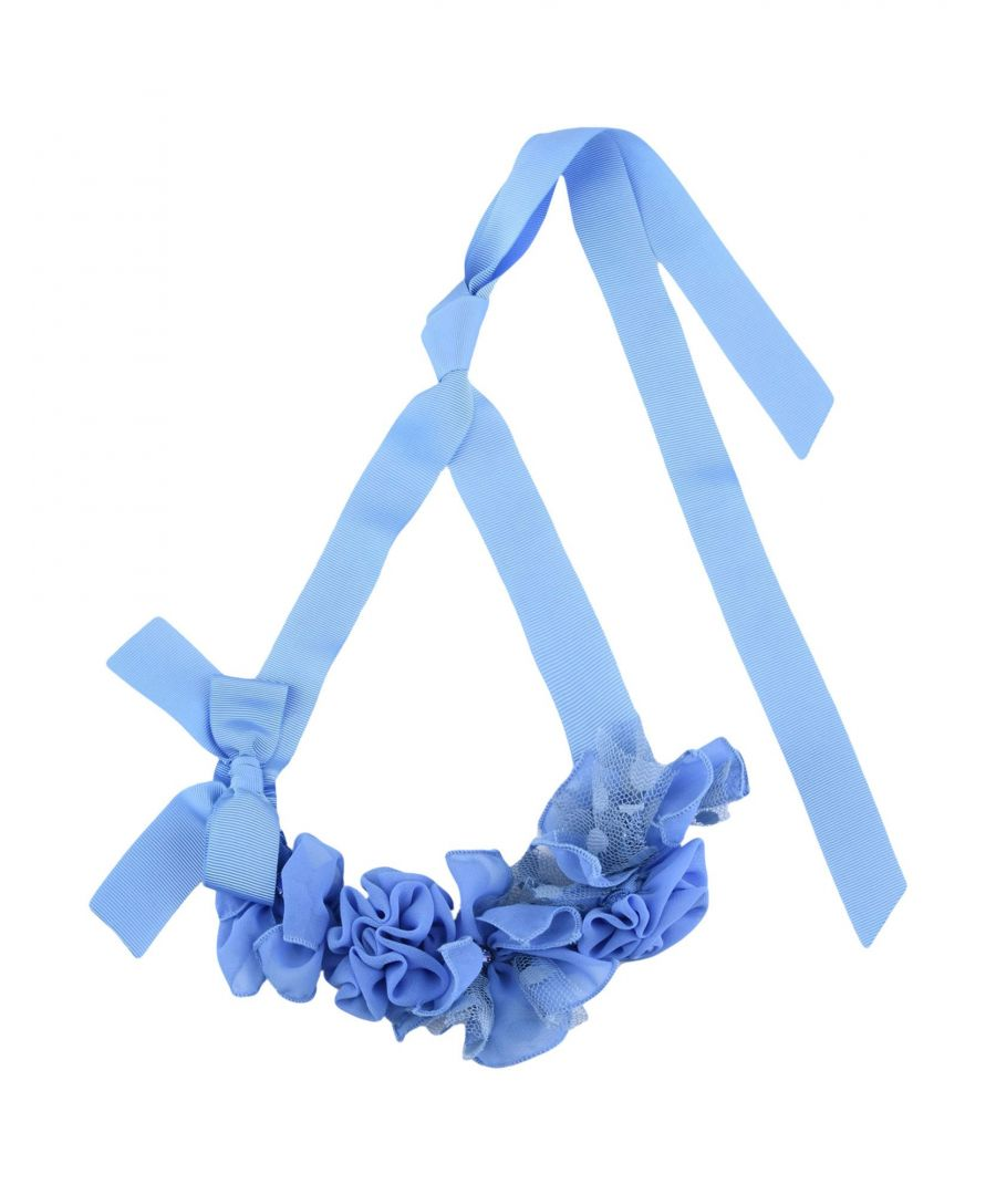 Image for JEWELLERY Girl Aletta Sky blue Textile fibres