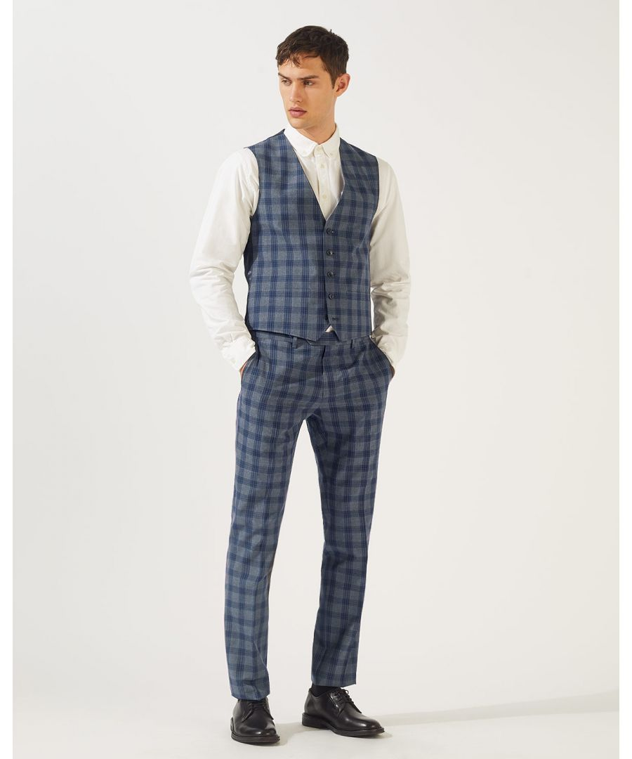 Image for Check Waistcoat