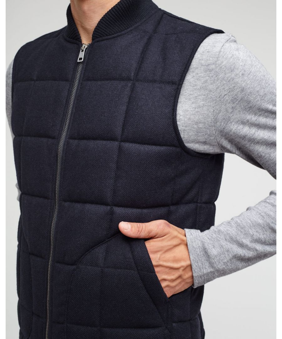 Image for Lambswool Padded Waistcoat