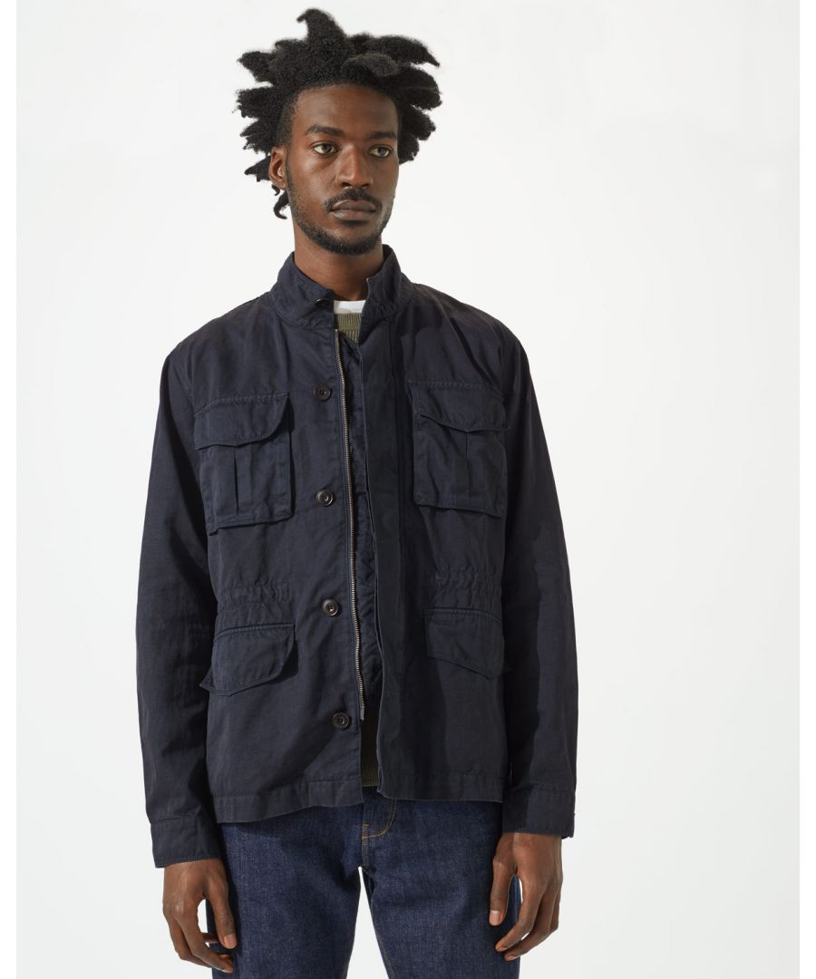 Image for Cotton Linenen Field Jacket