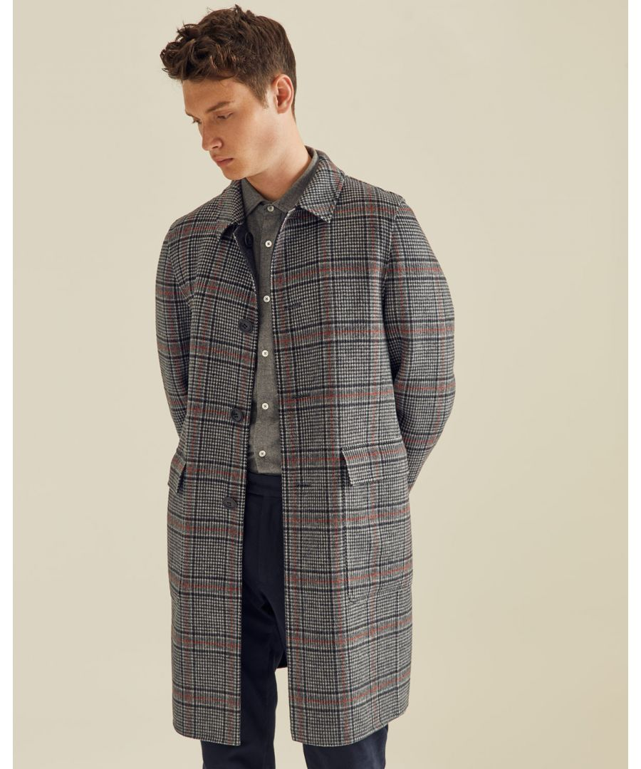 Image for Coventry Reversible Check Coat