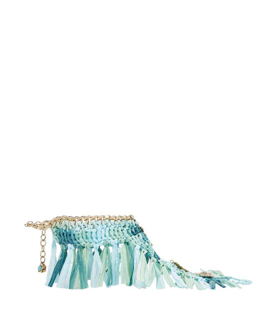 Image for Rosantica Turquoise Fringe Ankle Bracelet