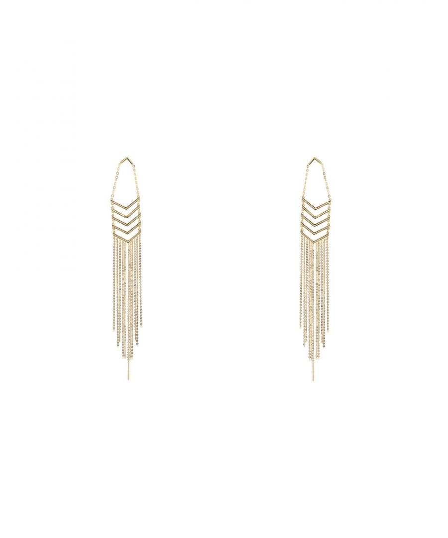 Image for Noir Jewelry Gold Tone Drop Earrings