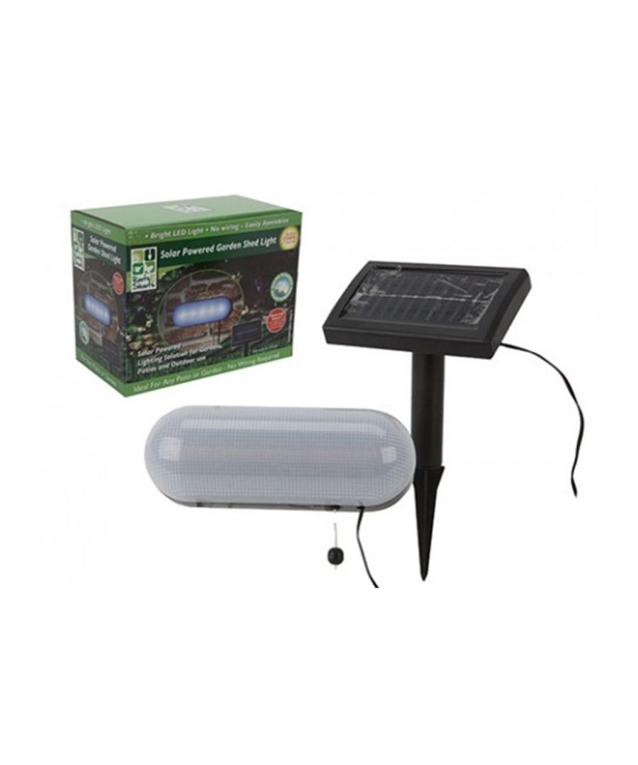 Image for Solar Powered Garden Shed Light (957004)