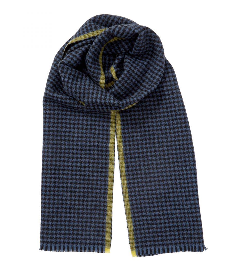 Image for Houndstooth Wool Scarf