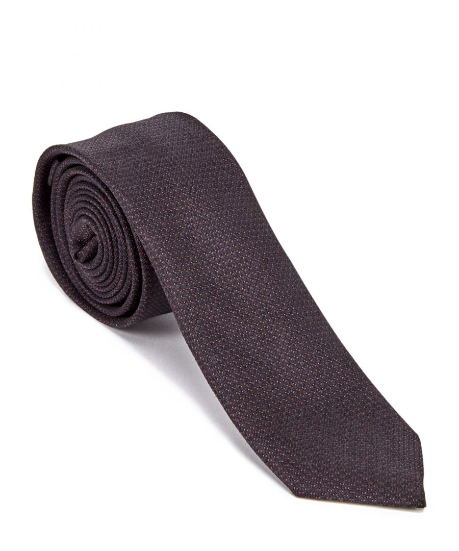 Image for Micro Dot Silk Tie