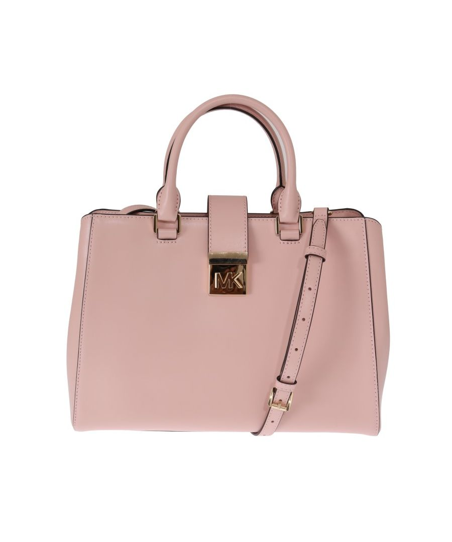 Image for Michael Kors Pink MINDY Satchel Crossbody Bag