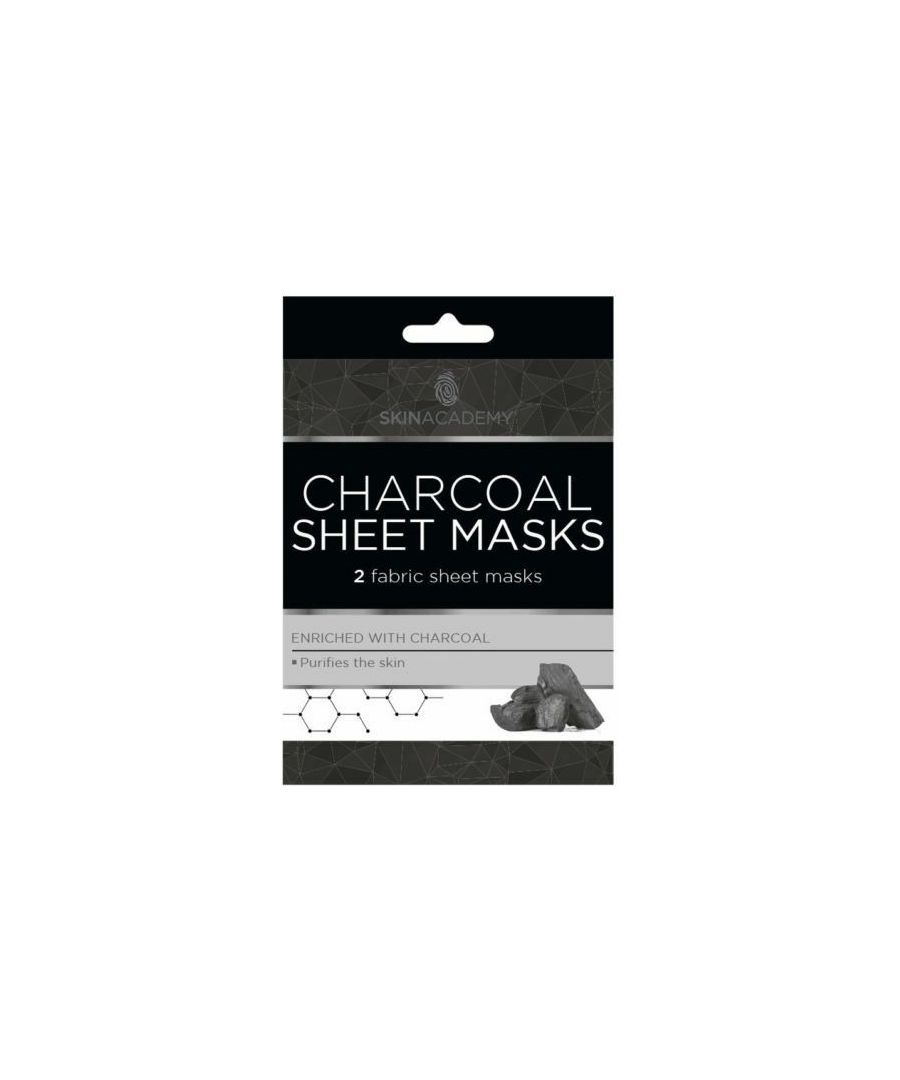 Image for Skin Academy Charcoal Sheet Mask